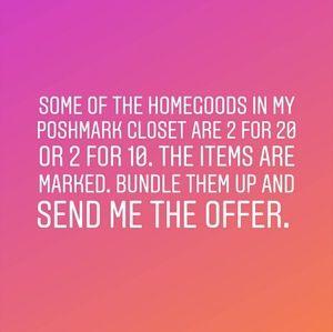 Homegoods deal